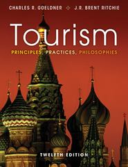 Tourism 12th Edition 9781118071779 1118071778