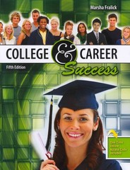 College and Career Success 5th Edition 9780757586583 0757586589