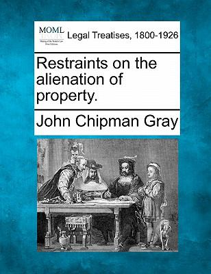 Restraints on the alienation of Property 0 9781240017041 1240017049