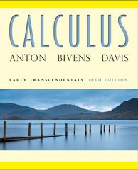 Calculus Early Transcendentals 10th edition 9780470647691 0470647698