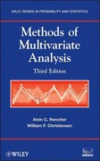 Methods of Multivariate Analysis 3rd Edition 9780470178966 0470178965