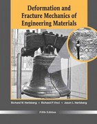 Deformation and Fracture Mechanics of Engineering Materials 5th Edition 9780470527801 0470527803