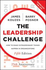 The Leadership Challenge 5th Edition 9780470651728 0470651725