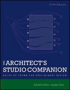 The Architect's Studio Companion 5th Edition 9780470641910 0470641916