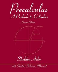 Precalculus 2nd Edition 9781118475768 1118475763