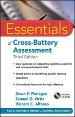 Essentials of Cross-Battery Assessment 3rd Edition 9780470621950 0470621958