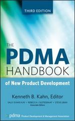 The PDMA Handbook of New Product Development 3rd Edition 9781118418086 1118418085