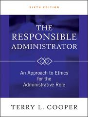 The Responsible Administrator 6th edition 9780470873946 0470873949
