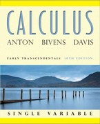 Calculus Early Transcendentals Single Variable 10th edition 9780470647684 047064768X