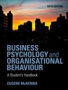 Business Psychology and Organizational Behaviour 5th Edition 9781848720350 1848720351