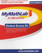 MyMathLab Plus -- Standalone Access Card 1st edition 9780558656706 0558656706