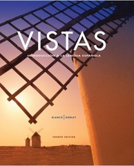 Vistas 4th Edition 9781605768816 1605768812