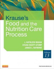 Krause's Food & the Nutrition Care Process 13th Edition 9780323266901 0323266908