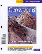 Geosystems 8th edition 9780321723925 0321723929