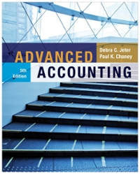 Advanced Accounting 5th Edition 9781118022290 1118022297