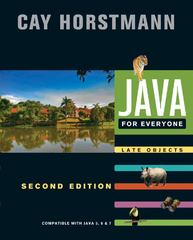 Java For Everyone 2nd Edition 9781118063316 1118063317