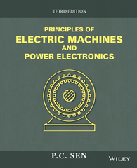 Principles of Electric Machines and Power Electronics 3rd Edition 9781118804155 1118804155