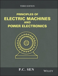 Principles of Electric Machines and Power Electronics 3rd Edition 9781118078877 111807887X