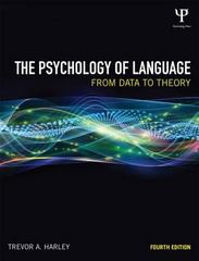 The Psychology of Language 4th Edition 9781848720893 1848720890