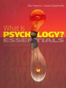What is Psychology? 2nd edition 9781111838447 1111838445