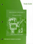 Study Guide for Baumol/Blinder's Microeconomics, 12th 12th edition 9781111970000 1111970009