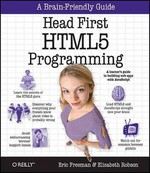 Head First HTML5 Programming 1st Edition 9781449390549 1449390544