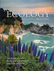 Ecology 2nd Edition 9780878934454 0878934456