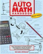 Auto Math Handbook HP1554 1st Edition 9781557885548 1557885540