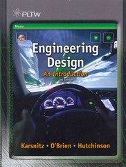 Engineering Design 2nd Edition 9781133708766 1133708765