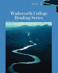 Wadsworth College Reading Series: Book 1 3rd edition 9781111839406 1111839409