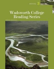 Wadsworth College Reading Series: Book 3 3rd edition 9781111839420 1111839425