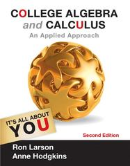 College Algebra and Calculus 2nd Edition 9781133710226 1133710220