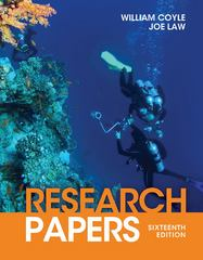 Research Papers 16th Edition 9781111839512 1111839514