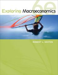 Exploring Macroeconomics 6th edition 9781133711018 1133711014