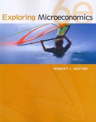 Exploring Microeconomics 6th edition 9781111970321 1111970327