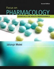 Focus on Pharmacology 2nd edition 9780132499668 0132499665