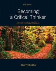 Becoming a Critical Thinker 6th Edition 9780205063451 0205063454