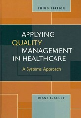 Applying Quality Management in Healthcare 3rd edition 9781567933765 1567933769
