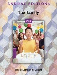 Annual Editions: The Family 12/13 38th Edition 9780078051043 0078051045