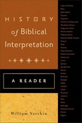 History of Biblical Interpretation 1st Edition 9780801039805 0801039800