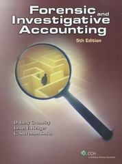 Forensic and Investigative Accounting 5th Edition 9780808026877 0808026879