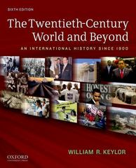The Twentieth-Century World and Beyond 6th Edition 9780199736348 0199736340