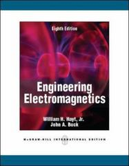 Engineering Electromagnetics 8th edition 9780071089012 0071089012