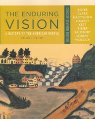 The Enduring Vision 7th edition 9781133713555 1133713556