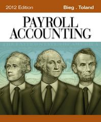 Payroll Accounting 2012 (Book Only) 22nd edition 9781111970994 1111970998