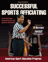 Successful Sports Officiating 2nd Edition 9780736098298 0736098291
