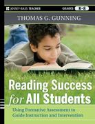 Reading Success for All Students 1st edition 9780470942222 0470942223