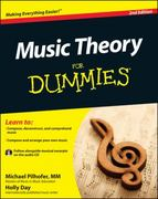 Music Theory For Dummies, with Audio CD 2nd Edition 9781118095508 1118095502