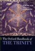 The Oxford Handbook of the Trinity 0 9780199557813 0199557810