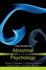 Case Studies in Abnormal Psychology 9th Edition 9781118086193 1118086198